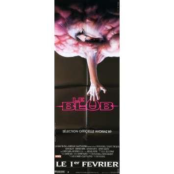 LE BLOB Affiche de film - 60x160 cm. - 1988 - Kevin Dillon, Chuck Russel