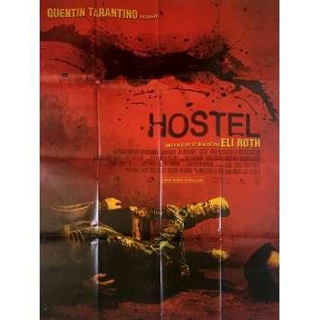 HOSTEL Affiche de film - 120x160 cm. - 2005 - Jay Hernandez, Eli Roth