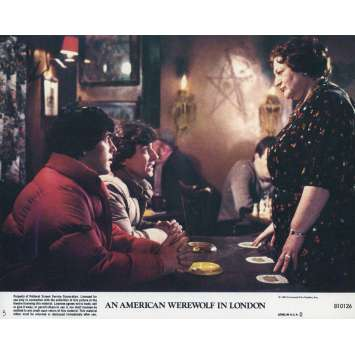 LE LOUP-GAROU DE LONDRES Photo de film N05 - 20x25 cm. - 1981 - David Naughton, John Landis