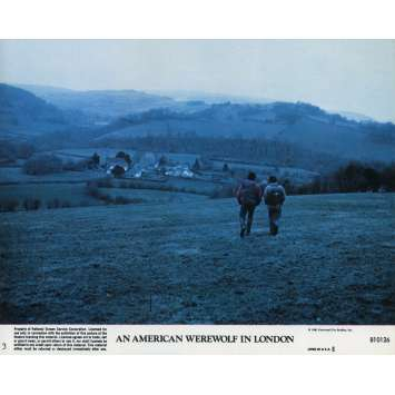 LE LOUP-GAROU DE LONDRES Photo de film N03 - 20x25 cm. - 1981 - David Naughton, John Landis