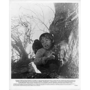 POLTERGEIST Photo de presse N01 - 20x25 cm. - 1982 - Heather o'rourke, Steven Spielberg