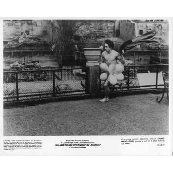 LE LOUP-GAROU DE LONDRES Photo de presse N05 - 20x25 cm. - 1981 - David Naughton, John Landis