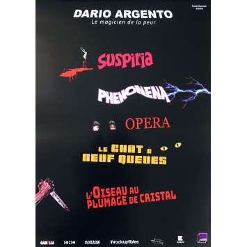 DARIO ARGENTO FESTIVAL Affiche de film - 40x60 cm. - 2018 - Nadia Nicolodi, Dario Argento
