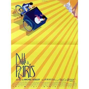 DILILI A PARIS Affiche de film - 40x60 cm. - 2018 - Michel Ocelot, Michel Ocelot