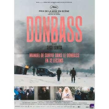 DONBASS Affiche de film - 40x60 cm. - 2018 - Valeriu Andriutã, Sergey Loznitsa
