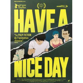 HAVE A NICE DAY Affiche de film - 40x60 cm. - 2018 - Changlong Zhu, Jian Liu