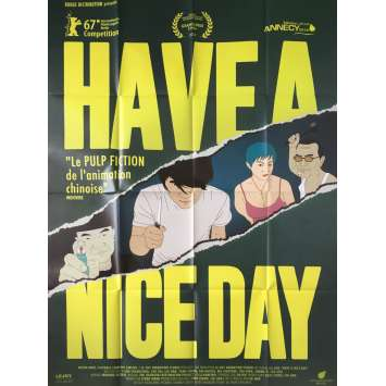 HAVE A NICE DAY Affiche de film - 120x160 cm. - 2018 - Changlong Zhu, Jian Liu