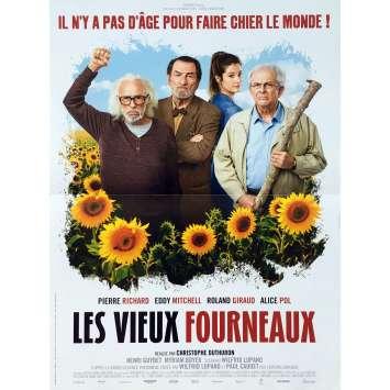 LES VIEUX FOURNEAUX Affiche de film - 40x60 cm. - 2018 - Pierre Richard, Christophe Duthuron