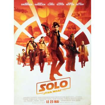 STAR WARS - SOLO Original Movie Poster - 15x21 in. - 2018 - Ron Howard, Woody Harrelson