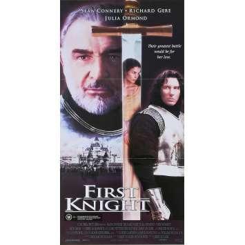FIRST KNIGHT Original Movie Poster - 13x30 in. - 1995 - Jerry Zucker, Sean Connery