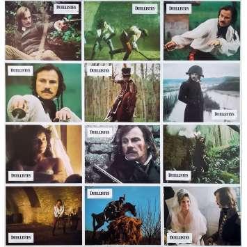 DUELLISTS Original Lobby Cards x12 - 9x12 in. - 1977 - Ridley Scott, Harvey Keitel