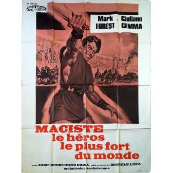 LE RETOUR DES TITANS Affiche de film - 120x160 cm. - 1963 - Mark Forest, Michele Lupo