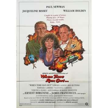 LE JOUR DE LA FIN DU MONDE Affiche de film - 69x102 cm. - 1980 - Paul Newman, James Goldstone