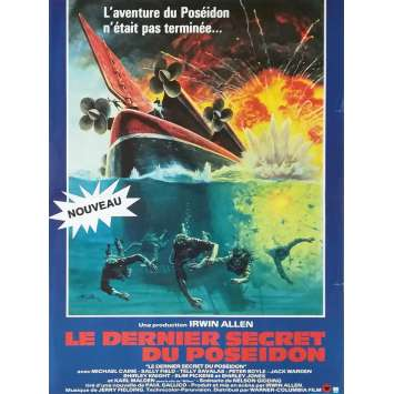 BEYOND THE POSEIDON ADVENTURE Original Movie Poster - 15x21 in. - 1979 - Irwin Allen, Michael Caine