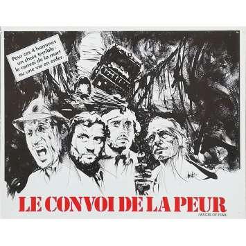 LE CONVOI DE LA PEUR Synopsis - 21x30 cm. - 1977 - Roy Sheider, William Friedkin