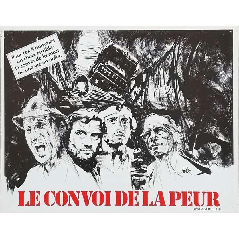 LE CONVOI DE LA PEUR Synopsis - 21x30 cm. - 1977 - Roy Sheider, William Friedkin