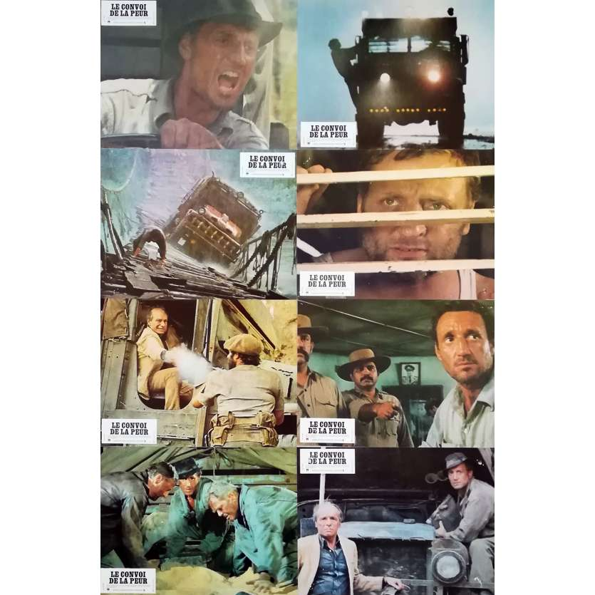 SORCERER Original Lobby Cards x16 - 9x12 in. - 1977 - William Friedkin, Roy Sheider