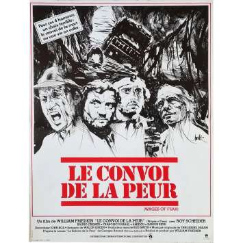 LE CONVOI DE LA PEUR Affiche de film - 40x60 cm. - 1977 - Roy Sheider, William Friedkin