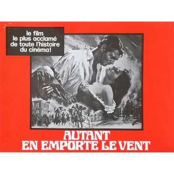 AUTANT EN EMPORTE LE VENT Synopsis - 21x30 cm. - 1939 - Clark Gable, Victor Flemming