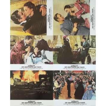 AUTANT EN EMPORTE LE VENT Photos de film x6 - 24x30 cm. - R1970 - Clark Gable, Victor Flemming