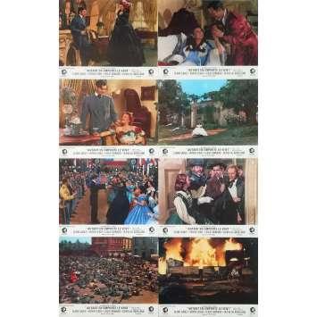 AUTANT EN EMPORTE LE VENT Photos de film x8 - 21x30 cm. - R1960 - Clark Gable, Victor Flemming