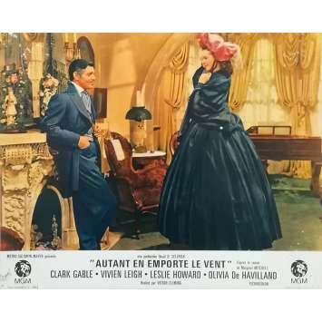 AUTANT EN EMPORTE LE VENT Photo de film N01 - 21x30 cm. - R1960 - Clark Gable, Victor Flemming