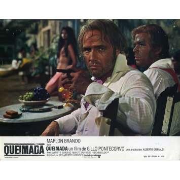QUEIMADA Photo de film - 21x30 cm. - 1969 - Marlon Brando, Gillo Pontecorvo