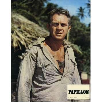 PAPILLON Photo de film N03 - 24x30 cm. - R1970 - Steve McQueen, Franklin J. Schaffner