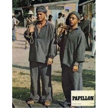 PAPILLON Photo de film N01 - 24x30 cm. - R1970 - Steve McQueen, Franklin J. Schaffner