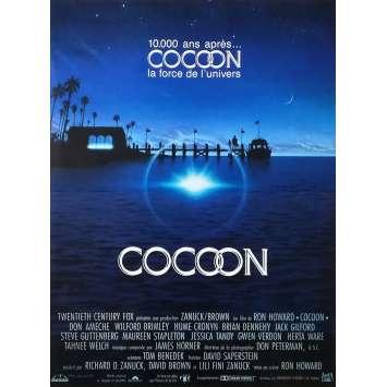 COCOON Affiche de film 40x60 - 1985 - Don Ameche, Ron howard