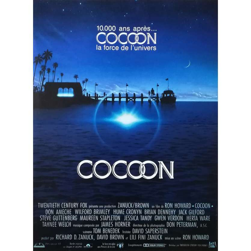 COCOON French Movie Poster 15x21 '85 Don Ameche, Ron howard