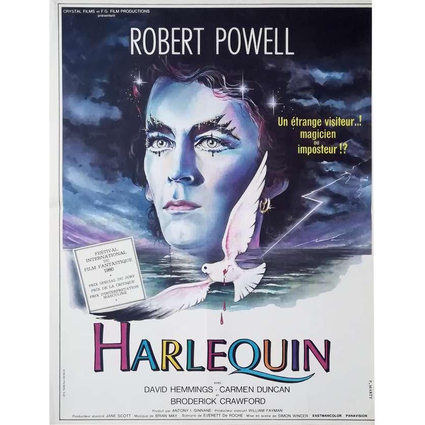 HARLEQUIN Movie Poster 15x21 '80 Robert Powell