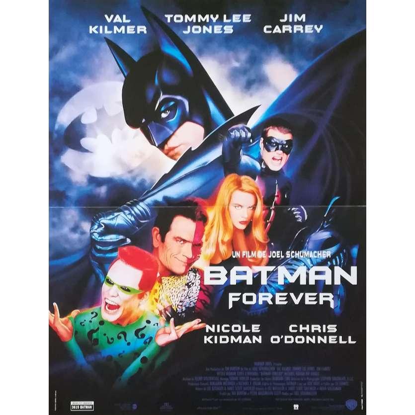 BATMAN FOREVER Original Movie Poster - 15x21 in. - 1995 - Joel Schumacher, Val Kilmer