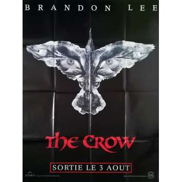 THE CROW Affiche de film Préventive - 120x160 cm. - 1994 - Brandon Lee, Alex Proyas