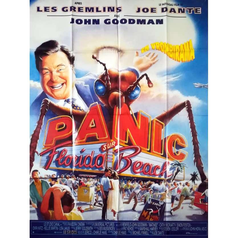 PANIC SUR FLORIDA BEACH Affiche de film - 120x160 cm. - 1993 - John Goodman, Joe Dante