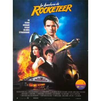 ROCKETEER Affiche de film - 40x60 cm. - 1991 - Jennifer Connely, Joe Johnston