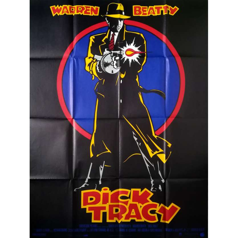 DICK TRACY Affiche de film - 120x160 cm. - 1990 - Al Pacino, Warren Beatty