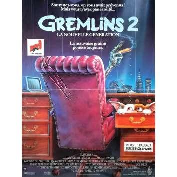 GREMLINS 2 Affiche de film - 40x60 cm. - 1990 - Zach Galligan, Joe Dante