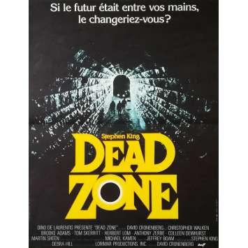 DEAD ZONE Affiche de film - 40x60 cm. - 1984 - Christopher Walken, David Cronenberg