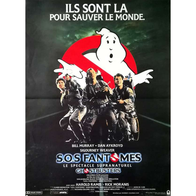 Ghostbusters Movie Poster 15x21 In