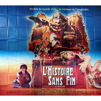 L'HISTOIRE SANS FIN Affiche de film - 400x300 cm. - 1984 - Barret Oliver, Wolfgang Petersen