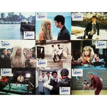 SPLASH Photos de film x9 - Jeu B - 21x30 cm. - 1984 - Daryl Hannah, Ron Howard