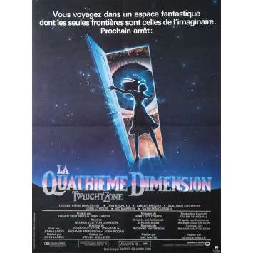 LA QUATRIEME DIMENSION Affiche de film - 40x60 cm. - 1983 - Dan Aycroyd, Joe Dante