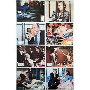 HARLEQUIN Photos de film x8 - Jeu B - 21x30 cm. - 1980 - Robert Powell, Simon Wincer