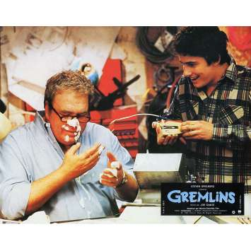 GREMLINS Original Lobby Card N06 - 9x12 in. - 1984 - Joe Dante, Zach Galligan
