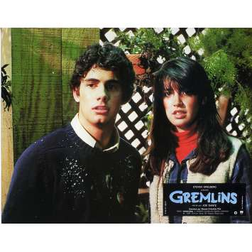 GREMLINS Original Lobby Card N03 - 9x12 in. - 1984 - Joe Dante, Zach Galligan