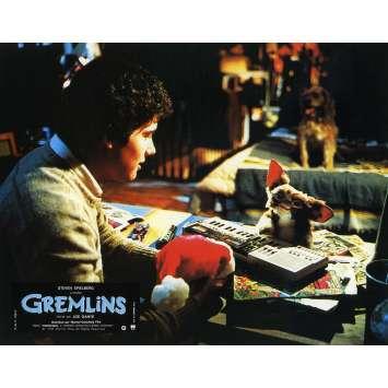 GREMLINS Original Lobby Card N02 - 9x12 in. - 1984 - Joe Dante, Zach Galligan