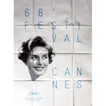FESTIVAL DE CANNES 2015 Affiche officielle 120x160, Ingrid Bergman