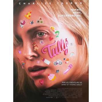 TULLY Affiche de film - 40x60 cm. - 2018 - Charlize Theron, Jason Reitman