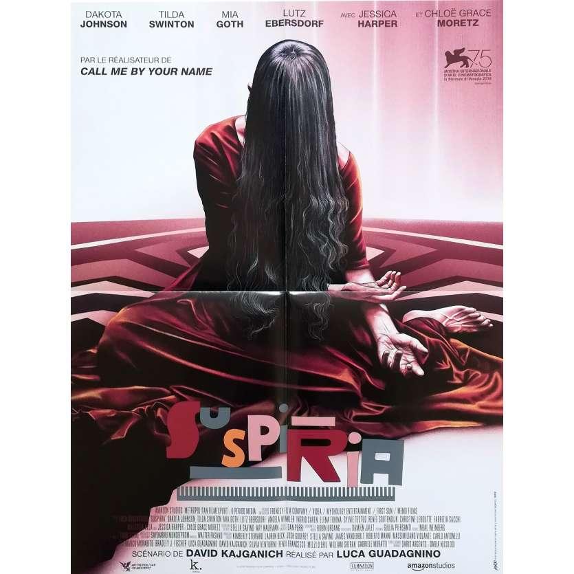 SUSPIRIA Affiche de film - 40x60 cm. - 2018 - Dakota Johnson, Luca Guadagnino